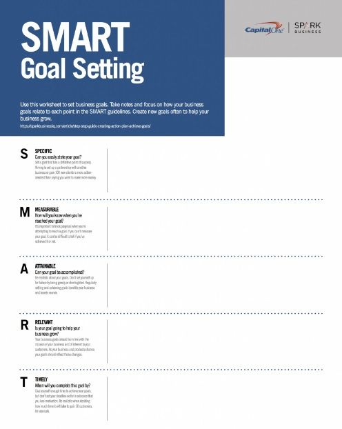 11 Effective Goal Setting Templates For You Smart Goals Worksheet Goals Template Smart Goals Template