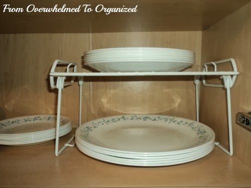 From Overwhelmed to Organized: Dishes and Glasses Cupboard Organizing Tips