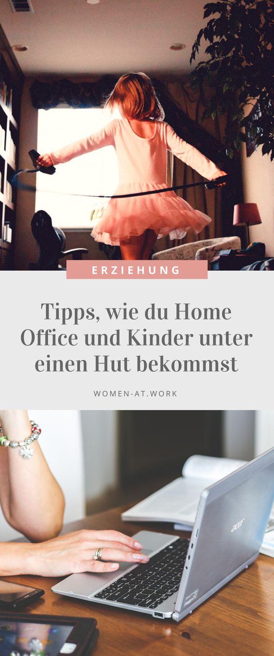 Tipps, wie du Home Office und Kinder unter einen Hut bekommst