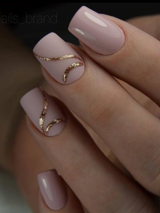 Gel Nails Without Uv : nails, without, Applied, Polish, Nails., Lamp., There, Classy, Designs,, Elegant