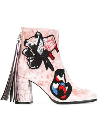 10/25/16 MSGM chunky heel ankle boots