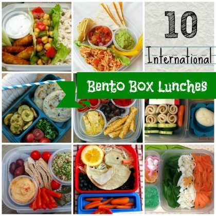 10 bento box lunches with a foreign twist backtoschool bentobox bento boxen pinterest. Black Bedroom Furniture Sets. Home Design Ideas