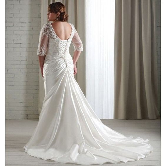 explore wedding dresses plus size