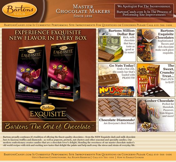 Bartons Candy - Performing Maintenance  sea salt caramels best ever!