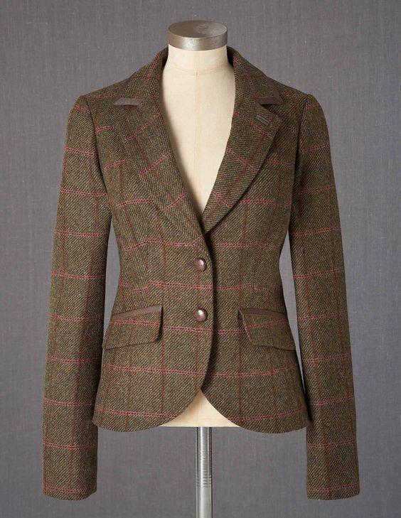 Tweed jacket women handm brown tweed ja misc pinterest for Boden new british katalog