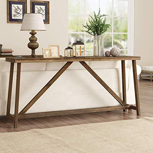 Buy Tribesigns 70 9 Inches Extra Long Sofa Table Solid Wood