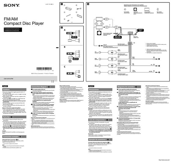 Best Of Sony Cdx Gt570up Wiring Diagram In 2020 Sony Car Stereo Diagram Car Stereo