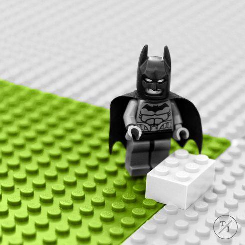 Lego Batman Photographed by Edyta Pachowicz for original wall art DIY decor