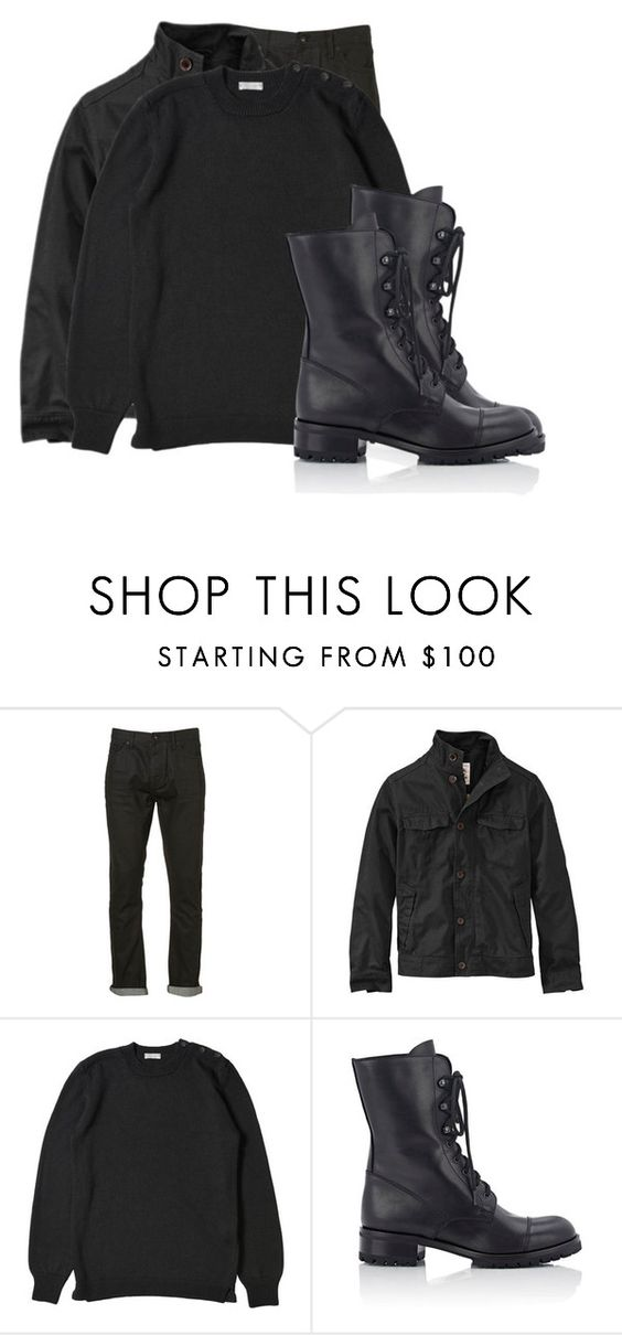 """American Horror Story [Freak Show]: Bullseye-Jaime Donovan"" by grandmasfood ❤ liked on Polyvore featuring Topman, Barneys New York, men's fashion and menswear"