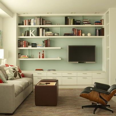 Living Room Floating Shelves Design Pictures Remodel Decor And Ideas Craft Diy And