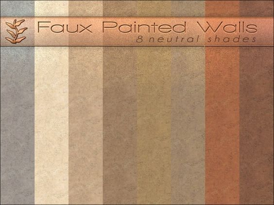 Faux Painted Walls by Playful at TSR
