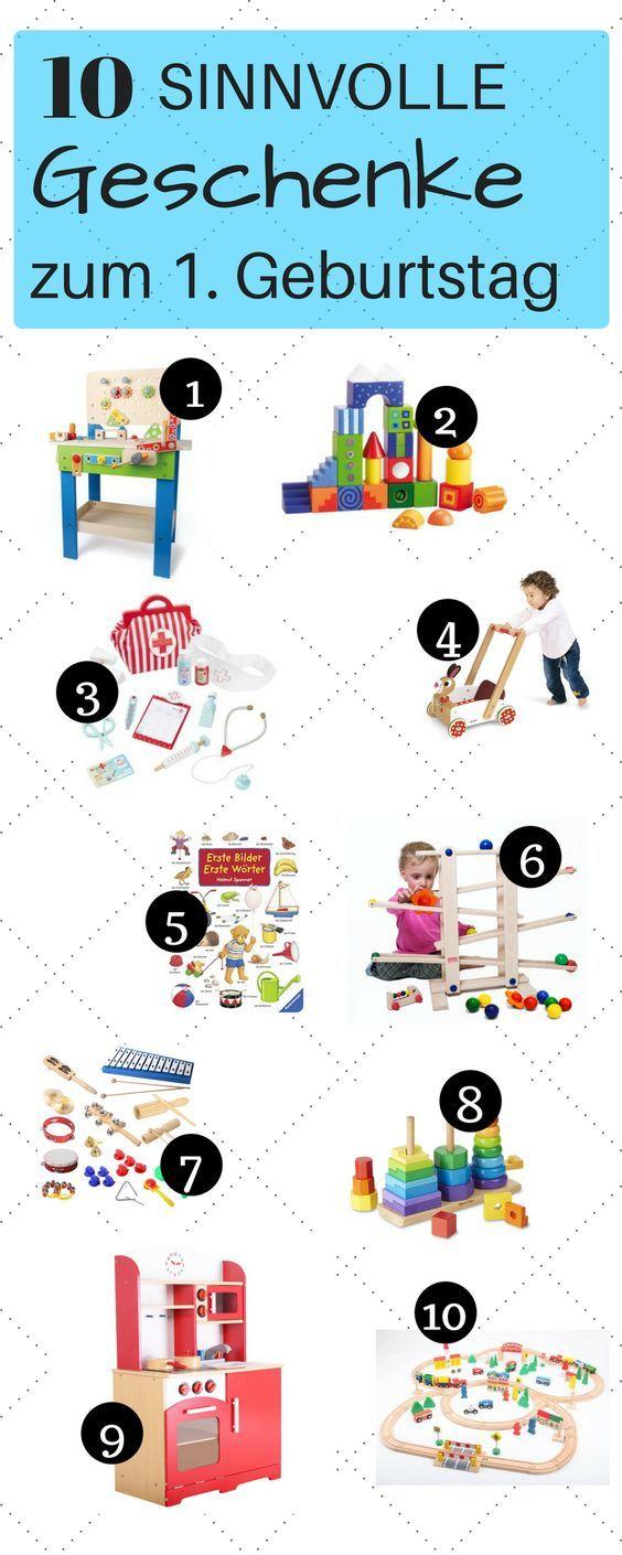 1. Geburtstag: Geschenke und Spielzeug für Einjährige