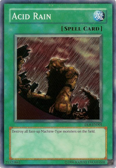Acid rain Yugioh card.....