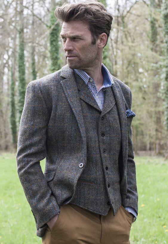 I feel the need...the need for tweed. Sumburgh Harris Tweed Jacket