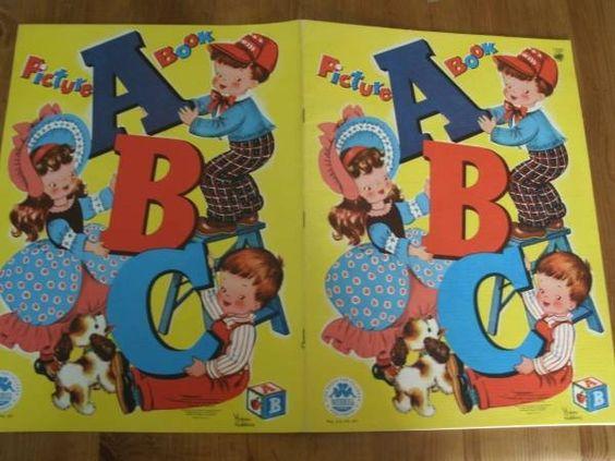 Books ABC Antique