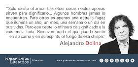 Pensamientos literarios.: Alejandro Dolina. Sobre el amor.