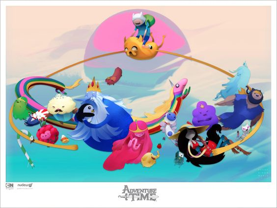 VERVEmethod: C ' M O N . G R A B . Y O U R . F R I E N D S Adventure Time