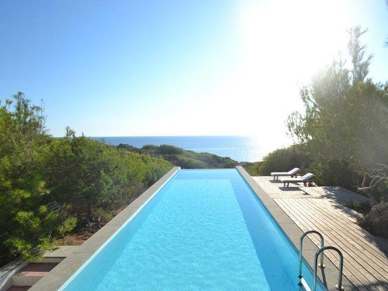 Ferienhäuser Formentera: Finca in Pilar de la Mola - Exklusive Meerblick-Villa