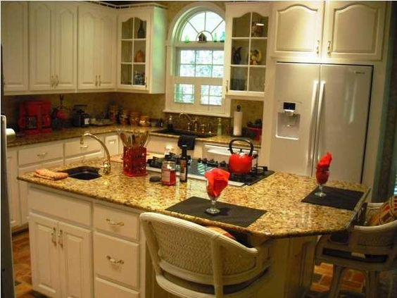 Center island cooktop for the kitchen pinterest - Kitchen island with cooktop and prep sink ...