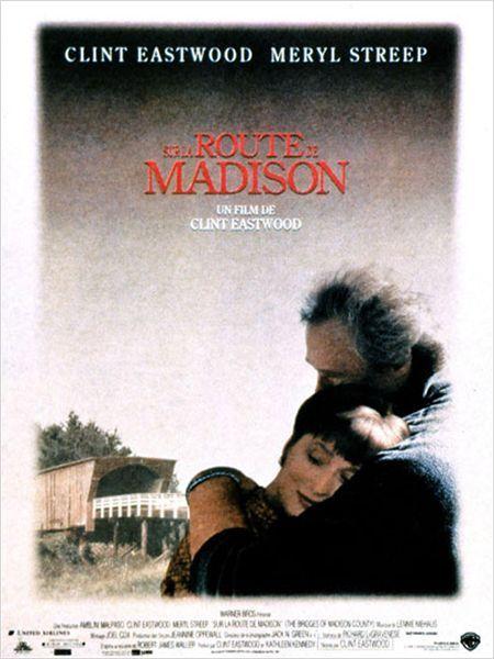 Sur la route de Madison est un film américain réalisé et interprété par Clint Eastwood, sorti en 1995. Il adapte, sous le même titre, le best-seller de Robert James Waller, paru en 1992.