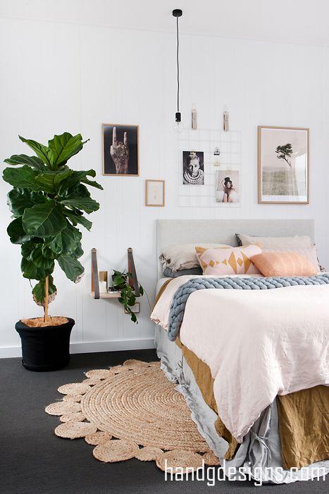 Cool Modern Rug Bedroom