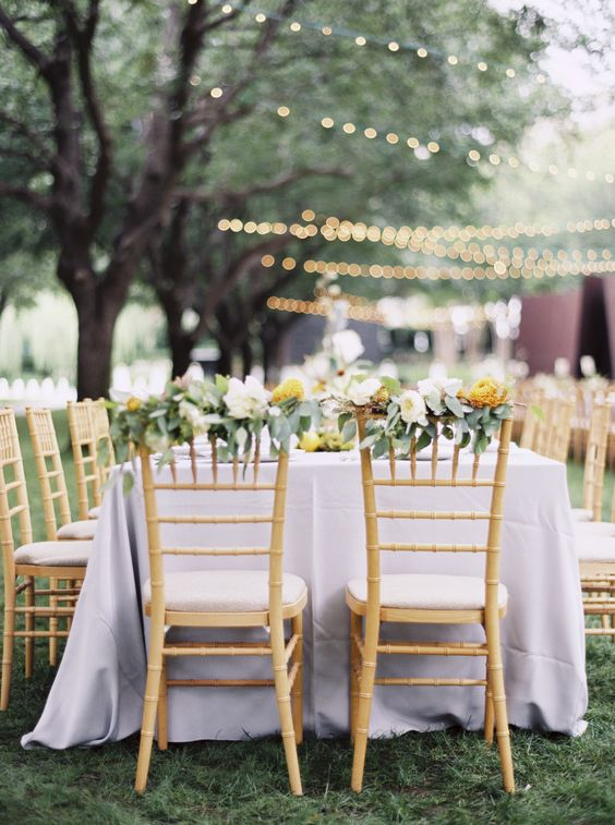 Photography : Sarah Kate Photography | Floral Design : Dirt Flowers | Reception Venue : The Nasher Sculpture Center | outdoor wedding