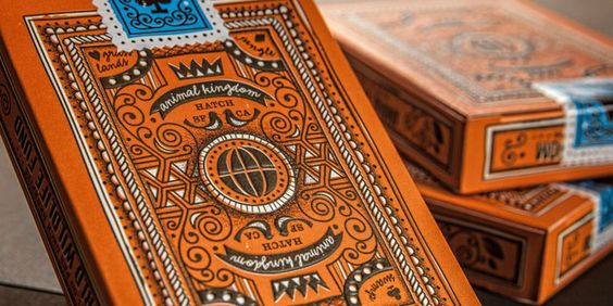 Animal Kingdom Playing Cards - The Dieline -