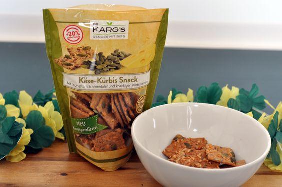 Hier kommt nur Natürliches in die Tüte: Der Käse-Kürbis-Snack von Dr. Karg's besteht aus knusperdünnen Knäckebrot und rein natürlichen Zutaten - für gesunde Genussmomente!