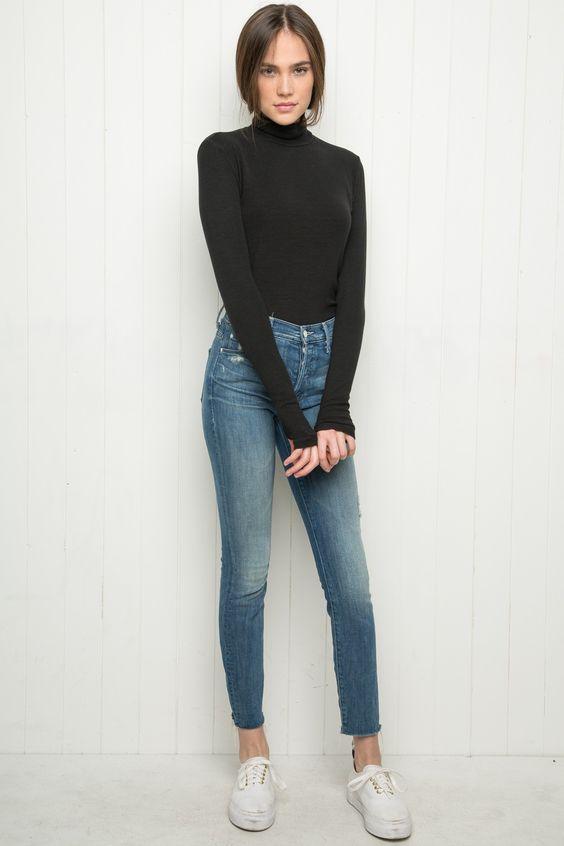 Brandy ♥ Melville | Johan Turtleneck Top - Clothing: