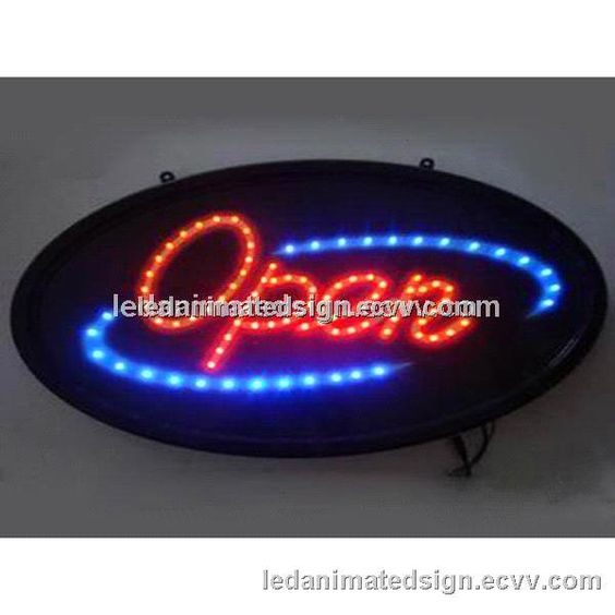 Open Sign LED Open Sign Illuminated Sign LED Lighting Display for Bar Club Store Restaurant (Led Illuminated open sign) - China Retail St...