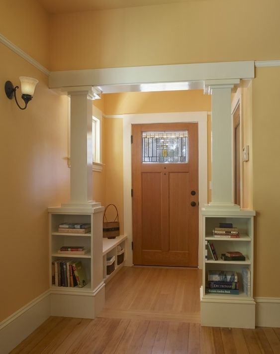 Craftsman Butterworth And Entry Ways On Pinterest