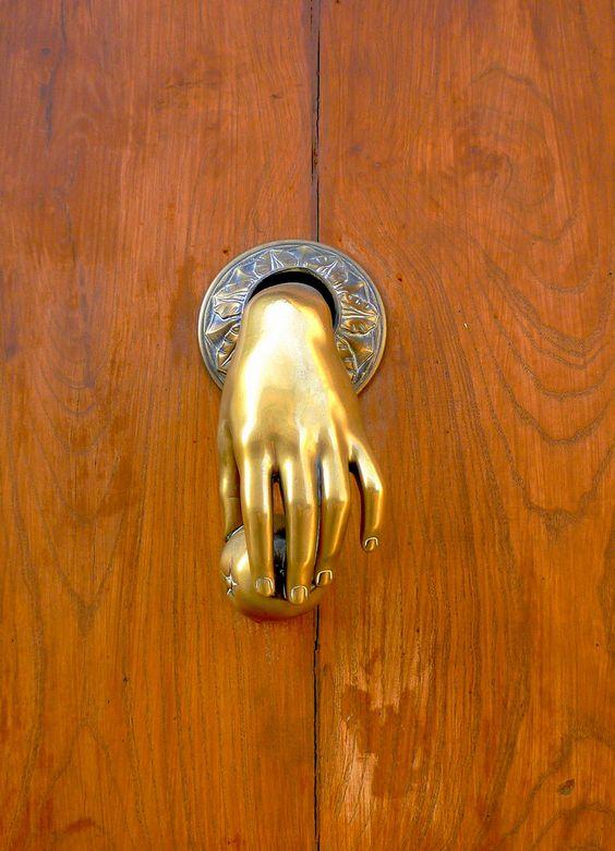 Door Knockers Doors And Unique Doors On Pinterest