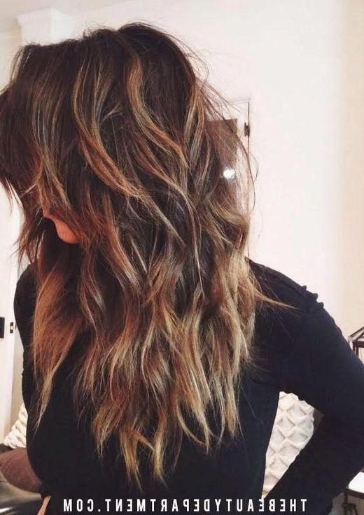 Resultado De Imagen De Long Hair With Lots Of Choppy Layers Longhaircutswithlayers Long Hair Styles Long Choppy Hair Long Layered Hair