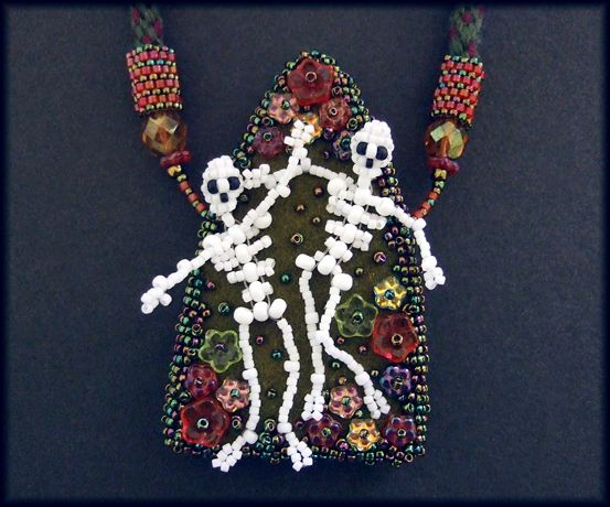 Kronleuchterjuwelen Glasperlenschmuck - Dia des los muertes