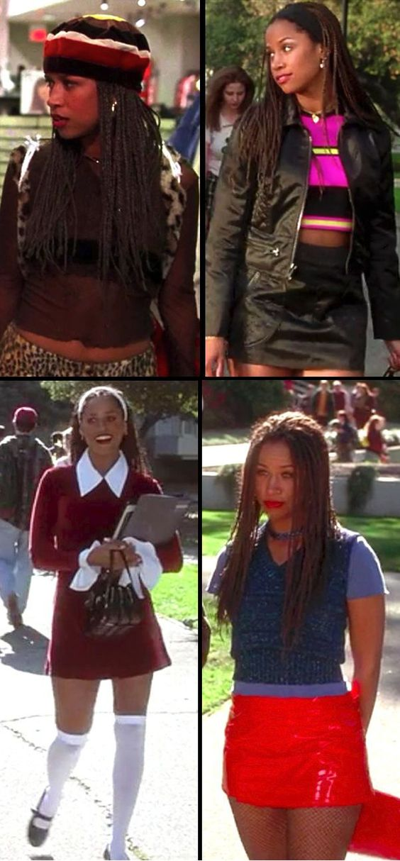 Stacey Dash as Dionne in 'Clueless' (1995). Costume Designer: Mona May.