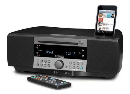high end clock radios | Best iPod-Enabled Alarm Clock Radio: Cambridge Soundworks i765