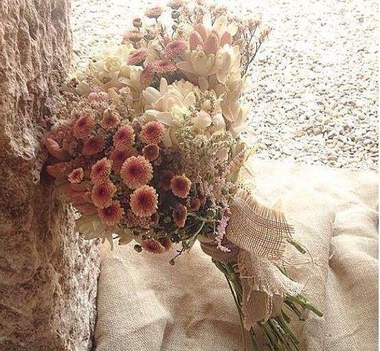Ramos de novia con flores secas