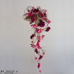 Bouquet de mariée cascade - Fleurs Mariage - Fleurs d'un Nouveau Monde - Fleurs d'un Nouveau Monde