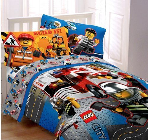 Lego City Twin Comforter Sheet Set 4 Piece Bedding Price 85 85 Free Shipping Bedding Comforters Twin Comforter Bedding Sets