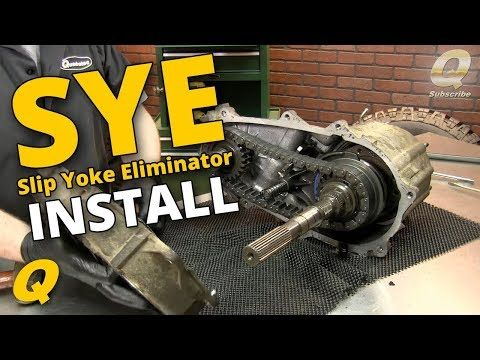 How To Install A Slip Yoke Eliminator And Driveshaft For A Jeep
