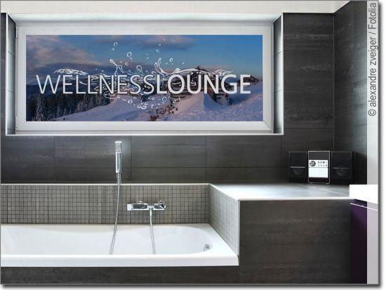 Glastattoo Wellness Lounge Fensterfolie Sichtschutzfolie Und Lounge