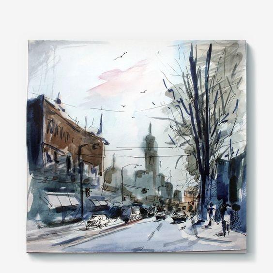 Холст «street»
