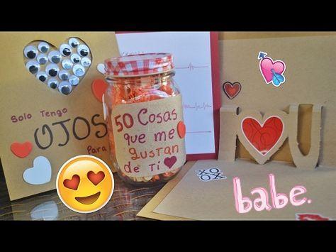 Regalos Para Mi Novio Hechos A Mano De Aniversario Regalos Para Mi Novio Creativos Y Originales Youtube Romantic Gifts Anniversary Gifts Gifts