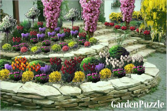 Ogrod I Skalniak Gardenpuzzle Projektowanie Ogrodow W Przegladarce Plants