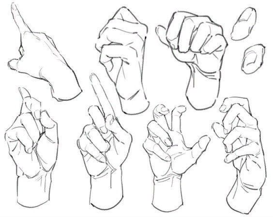 Pin By Thiccutou On Anime Drawings Drawing Reference Hand Reference Art Reference