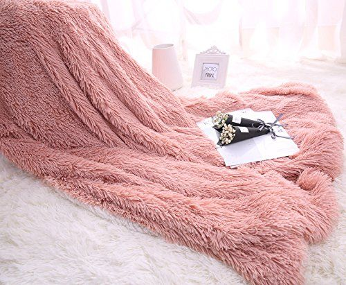 Yousa Super Soft Faux Fur Warm Fluffy Bright Color Throws And Blankets Plush Sherpa Throw Blanket 51x63p Fluffy Blankets Faux Fur Blanket Sherpa Throw Blankets