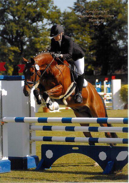 Show jumping  Horse riding  Norddeutsche Jugendmeisterschaften Hamburg Derby Park