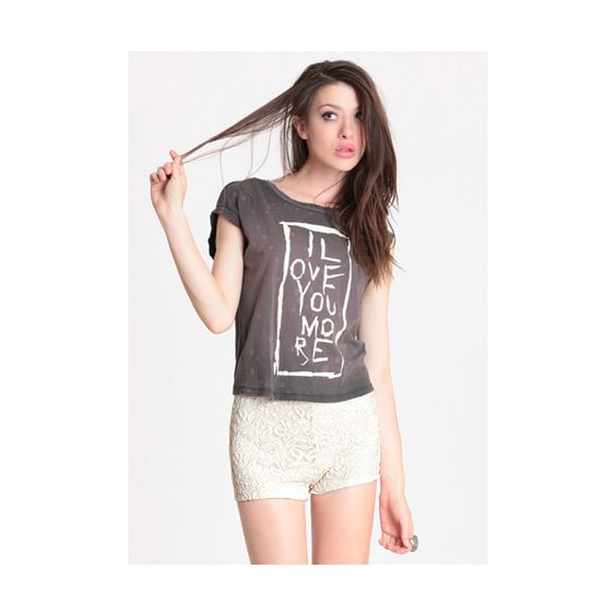 Free People We The Free Totally Tape Graphic Tee ($68) ❤ liked on Polyvore