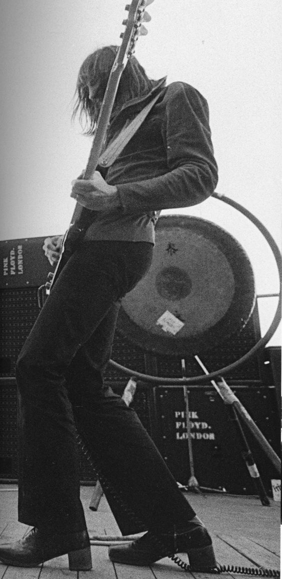 Roger Waters of Pink Floyd - Australia (1971)