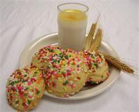 Sombrero : Guayaba Llenando  con Salpicaduras de Color Dulce Guava Filling with Colored Sprinkles bombolo biscotti sarasota fl